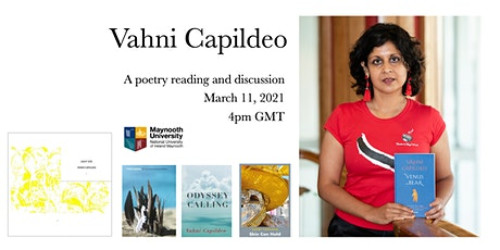 Vahni Capildeo: poetry reading and conversation tickets