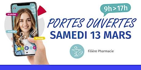 Portes ouvertes du CFA - Filière Pharmacie billets