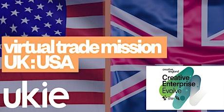 Virtual trade mission UK:USA tickets