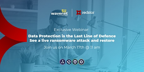 Webinar: Data Protection is The Last Line of Defence tickets
