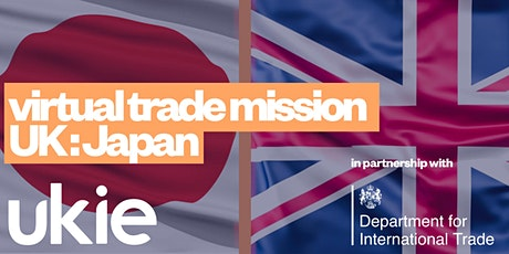 Virtual trade mission UK:Japan tickets