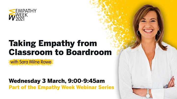 Empathy Week Webinar Series 2021 image
