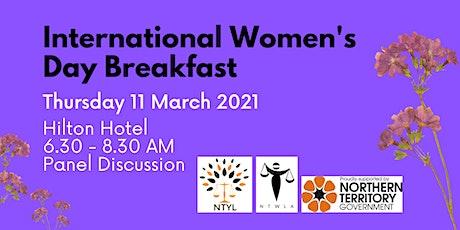 NTYL & NTWLA International Women's Day Panel Breakfast tickets
