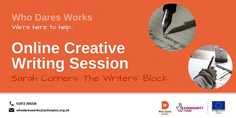 Who Dares Works: Online Creative Writing session tickets