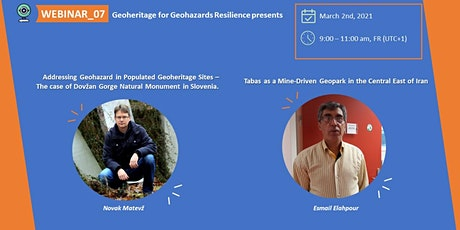 Webinar_07: Geoheritage for Geohazard Resilience tickets