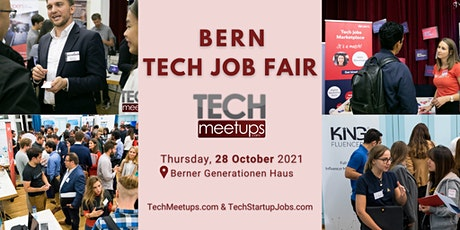 Bern Tech Job Fair 2021 by Techmeetups billets