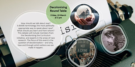 Decolonising Round Table tickets