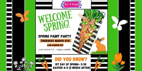 Spring Paint Party tickets