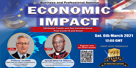 Economic Impact of UK/Global Trends and Key Considerations Post Covid-19 tickets