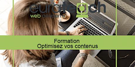 Formation Optimisez vos contenus Web billets