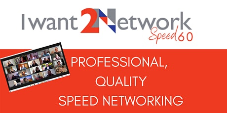 Speed 60: UK Wide I Online Speed Networking I Business Professionals tickets