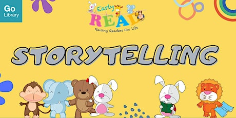 Storytime for 4-6 years old @ Sembawang Public Library | Early READ tickets