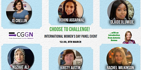 CGGN International Women's Day Panel Event - Theme: Choose to Challenge! tickets