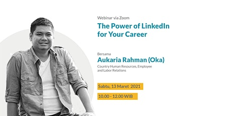 The Power of Linkedin for Your Career tickets