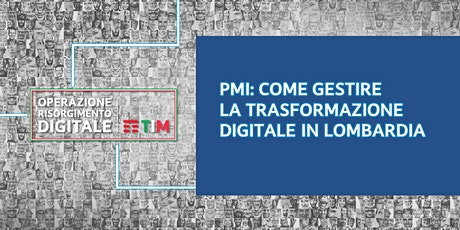 PMI: Come gestire la trasformazione digitale in Lombardia - Cos'è un ERP biglietti