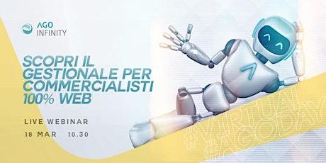 WEBINAR  Virtual AGO DAY - 18 marzo 2021, ore 10:30 biglietti