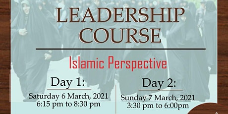 Leadership Course - Islamic Perspective tickets