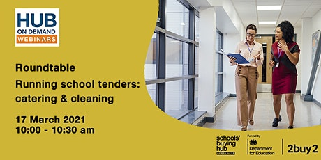 Roundtable: Running school tenders - catering & cleaning tickets