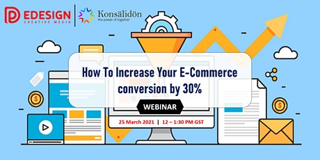 How To Increase Your E-Commerce conversion by 30% tickets