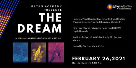THE DREAM: A Special Launch Event and Art Auction Tickets