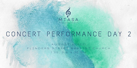 MTASA Concert Performance Day 2 2021 tickets
