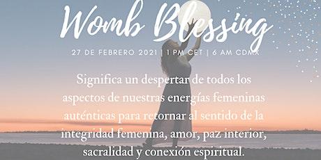 Sintonización Mundial de la Womb Blessing (Círculo de mujeres online) entradas