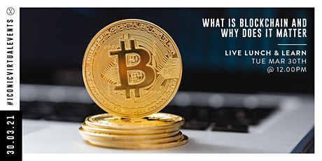 What Is Blockchain & Why Does It Matter with Lory Kehoe tickets