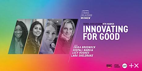 IWD | F&F + Plus X present: Trailblazing Women | Innovating For Good billets