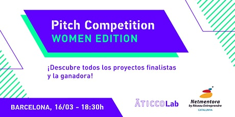 Pitch Competition - Women Edition Barcelona entradas