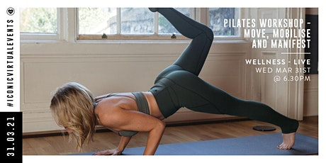 Pilates - Move, Mobilise & Manifest with Audrey O'Connor tickets