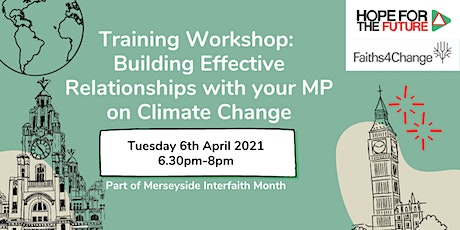 Training Workshop: Build an Effective Relationship with your MP tickets