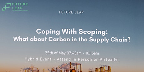 Coping with Scoping: What about Carbon in the Supply Chain? tickets