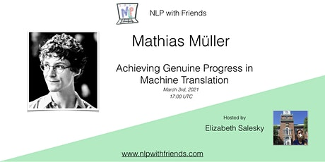 NLP With Friends, featured friend: Mathias Müller tickets