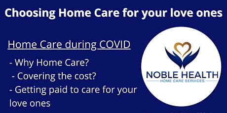 Virtual Circle - Choosing Home Care for your love ones tickets