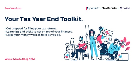 Your Tax Year End Toolkit tickets