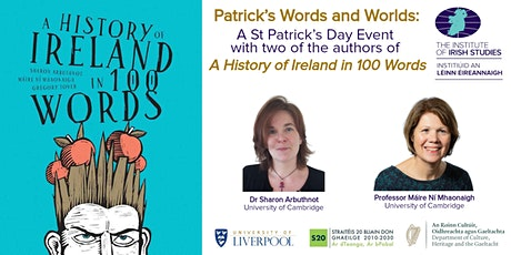 Patrick's Words and Worlds: A St Patrick's Day Event tickets