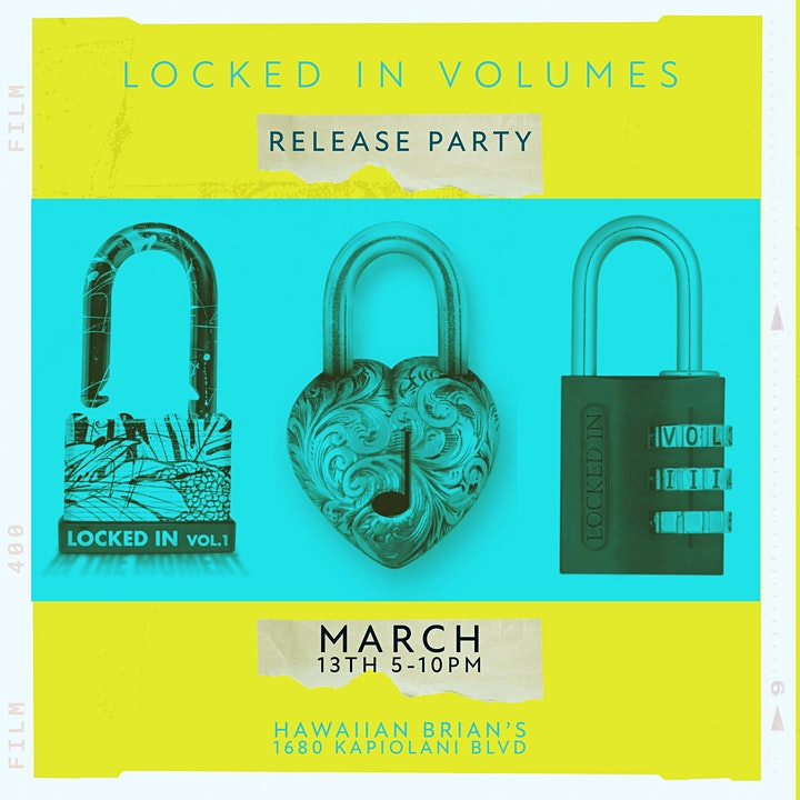 Locked In Volumes 1,2 & 3 Album Release Party image