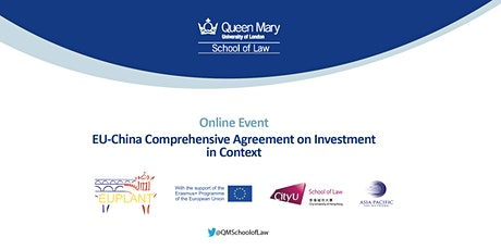 EU-China Comprehensive Agreement on Investment in Context Series (Part I) Tickets