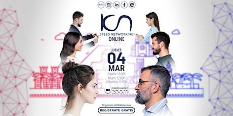 KCN Baleares Speed Networking Online. 4 Mar entradas