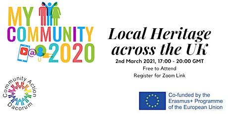 MyCommunity2020: Local Heritage Across the UK Exhibition tickets