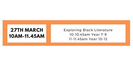 YBTN: Exploring Black Literature (Secondary & Post 16) tickets