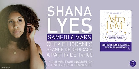 Shana Lyès en dédicace ! billets