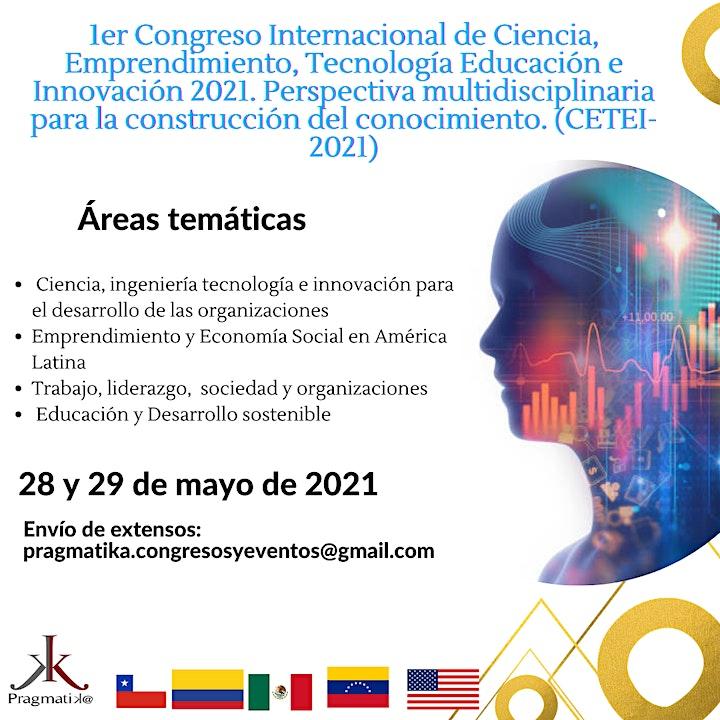 Congreso de Ciencia, Emprendimiento, Tecnología Educación e Innovación 2021 image