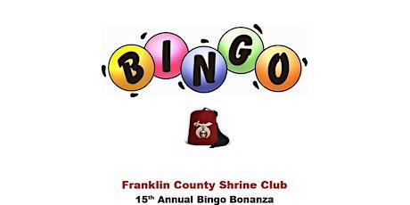 15th Annual Bingo Bonanza tickets