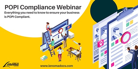 Lenoma Legal POPI Compliance Webinar tickets