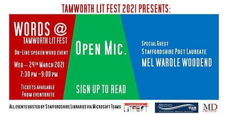 WORDS@Tamworth LITFEST tickets