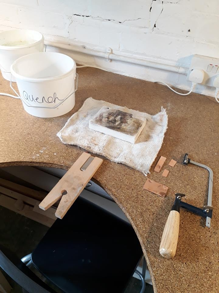 6 Week Introduction to Silversmithing course (with tool package) image