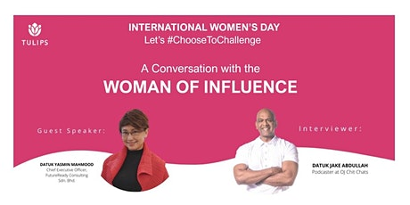 A Conversation with the Woman of Influence tickets