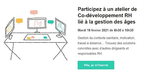 Atelier de co-développement RH billets