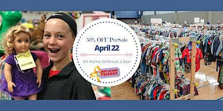 Spring 2021 Half Price Presale tickets